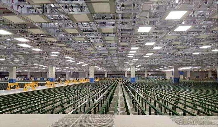 三星(中国)半导体有限公司中国西安X2 PJT中FAB栋SYSTEM CEILING工程(M02 PKG)洁净工程