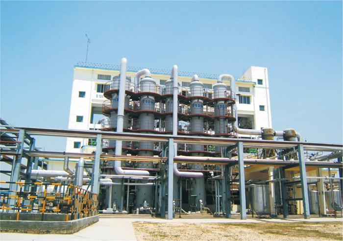 陕西金泰氯碱化设备安装工程